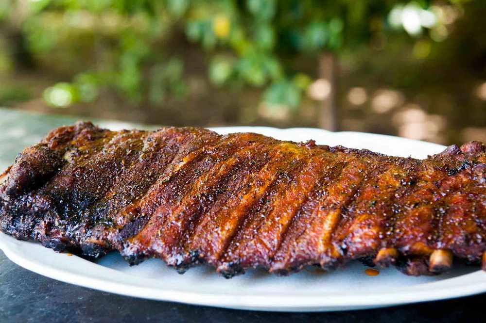 Barbecue estilo Memphis - costelinha de porco